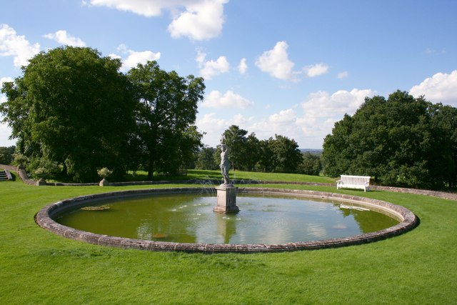 Fountain at Buscot House