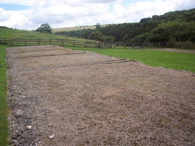 Excavated Farm buildings at Wharram Percy
