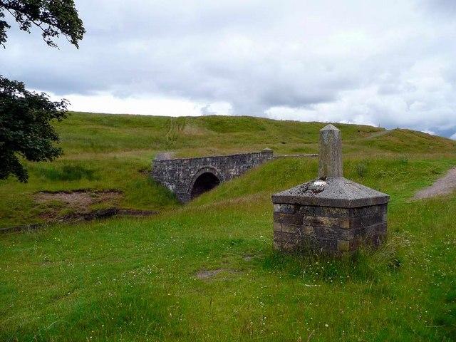 Tibbie's Brig and memorial