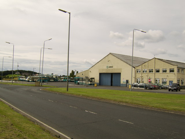 Arriva bus depot, Inchinnan