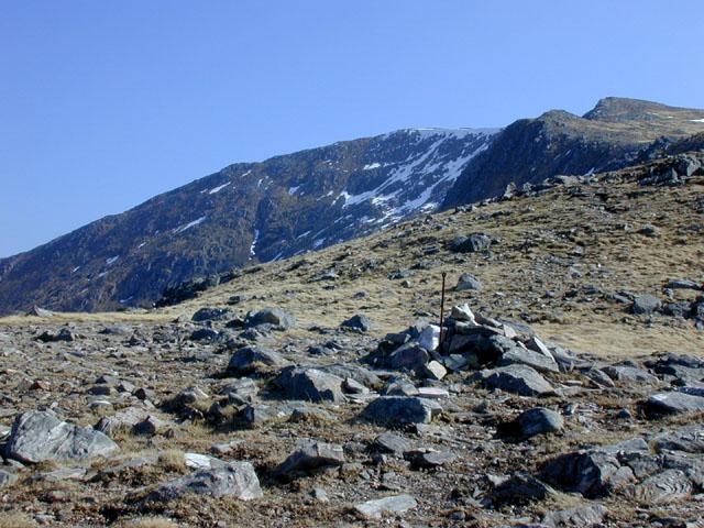 The Meall a' Bhealaich ridge