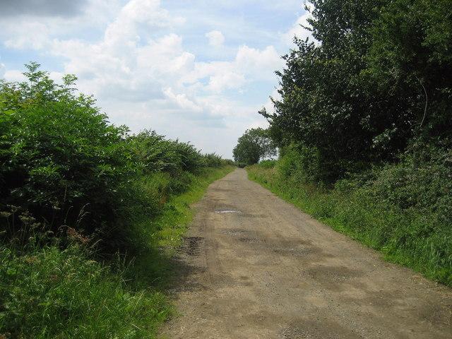 Myers Lane near Thrintoft