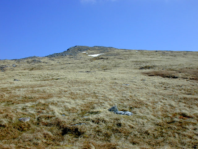 Final slopes of Beinn Fhada