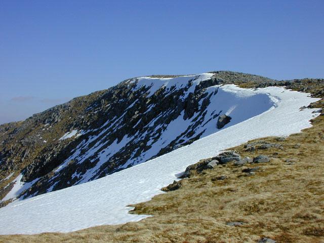 The summit of Beinn Fhada