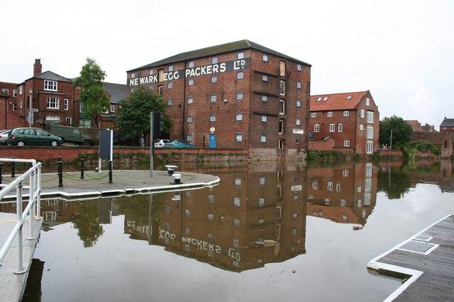 Trentside wharfage