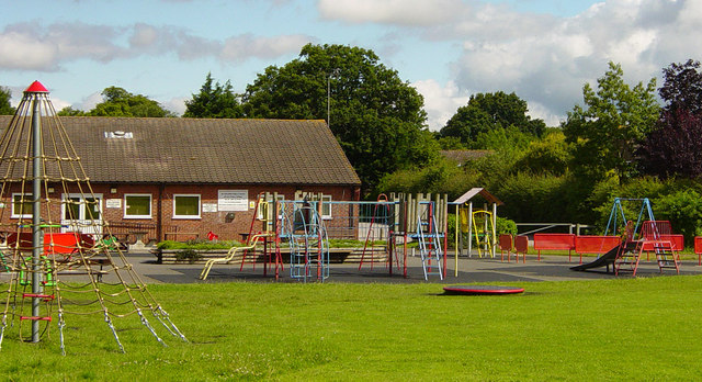 Chineham Village Hall and children's play area