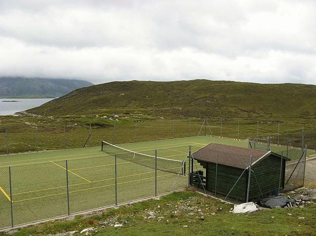 Bun Abhainn Eadarra Tennis Court