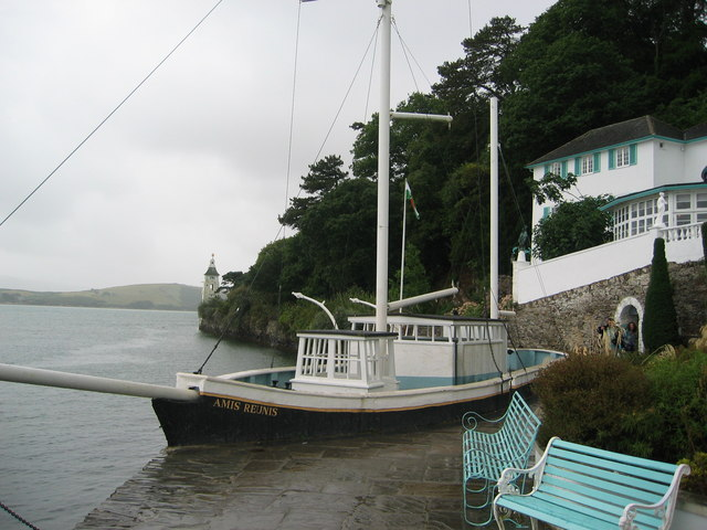 Concrete Boat by Portmeirion Hotel