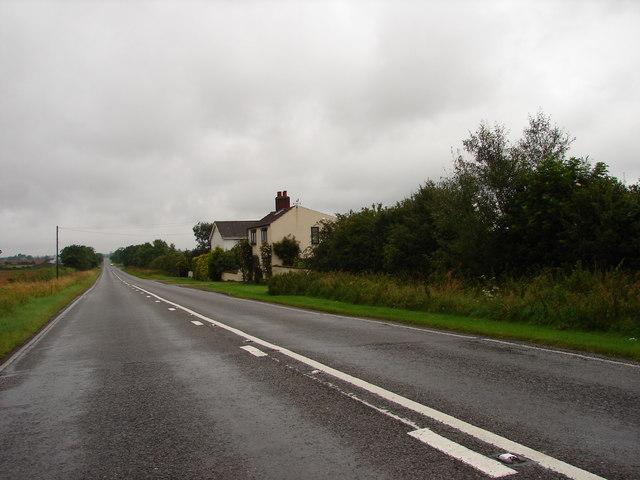 "A46 near ""Off Farm"""