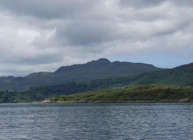 Rubha an Eilean Mhoir from Loch Sunart