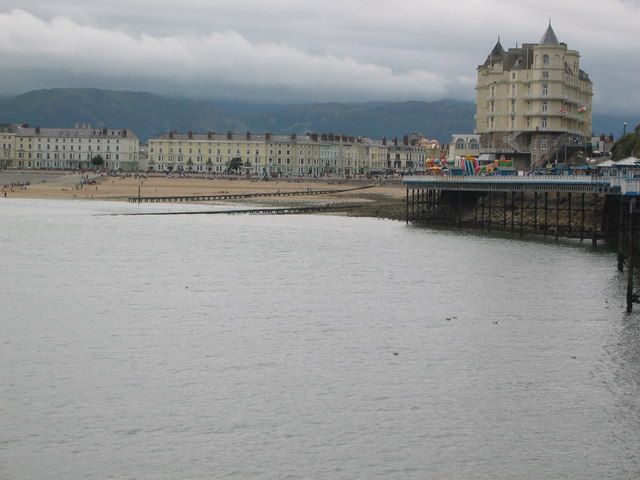 Llandudno Front viewed from the pier