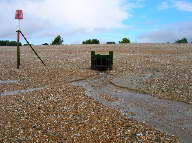 Outfall, Aldwick Beach