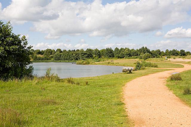 Beach Lake, Lakeside Country Park, Eastleigh