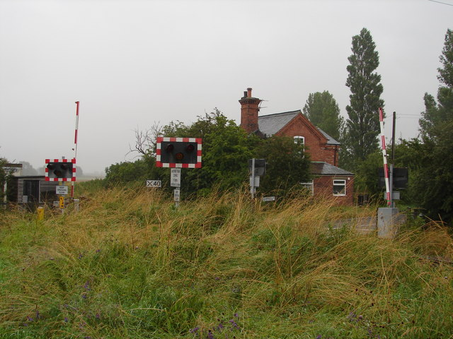 View of Lissingley Level Crossing