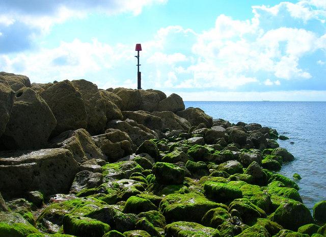 Outfall, Pagham Beach