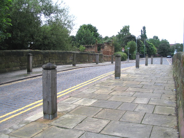Upper Spon Street from Spon Street bridge