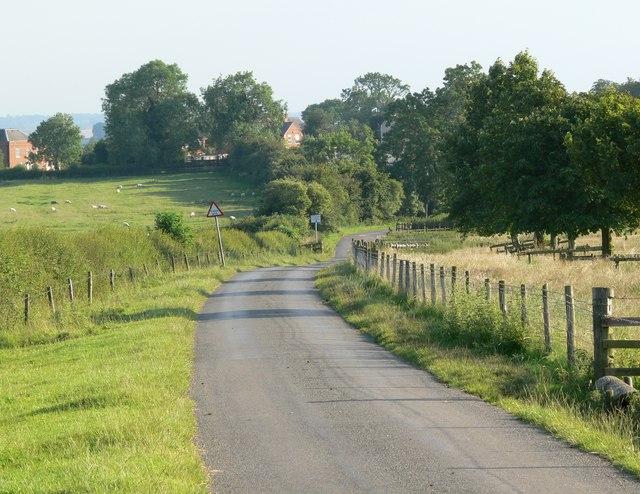 Ashlands Road near Illston on the Hill