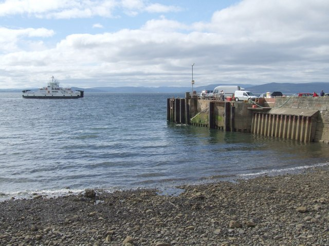 Ferry at Largs