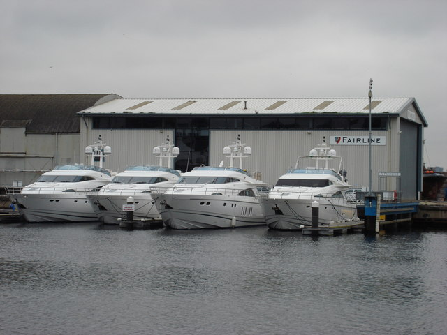 Fairline Yacht Testing Facility