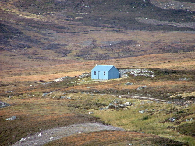 Unnamed building in upper Glen Kyllachy