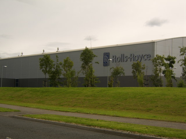 Rolls-Royce factory, Inchinnan