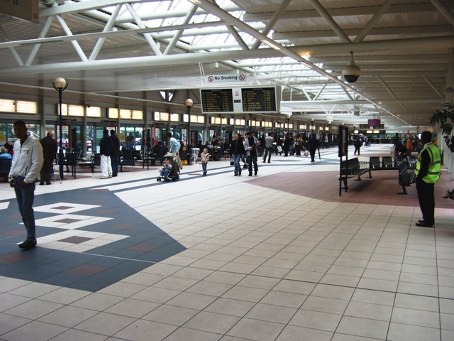 Concourse at Bradford Bus Station David Ward Geograph Britain