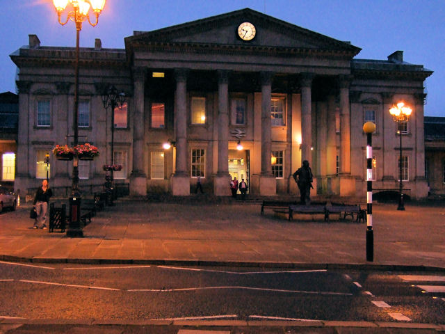 Huddersfield Railway Station Entrance