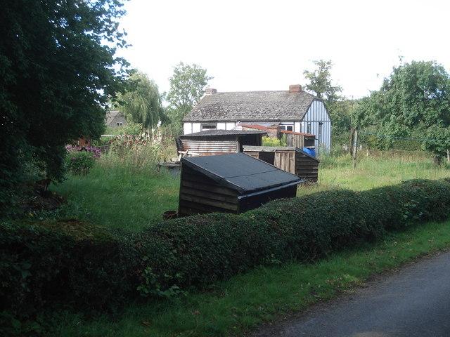 Garden sheds at Saleway