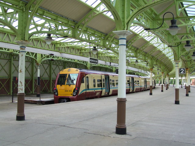 Railway Station at Wemyss Bay