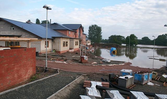 July 2007 Flood - New Upton Surgery