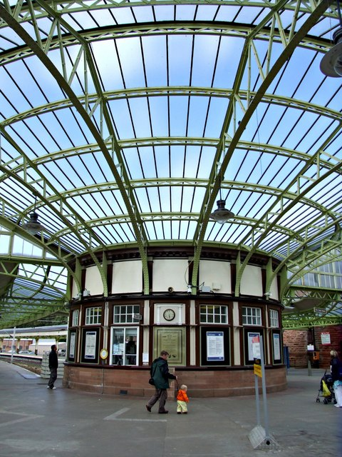 Railway Station at Wemyss Bay