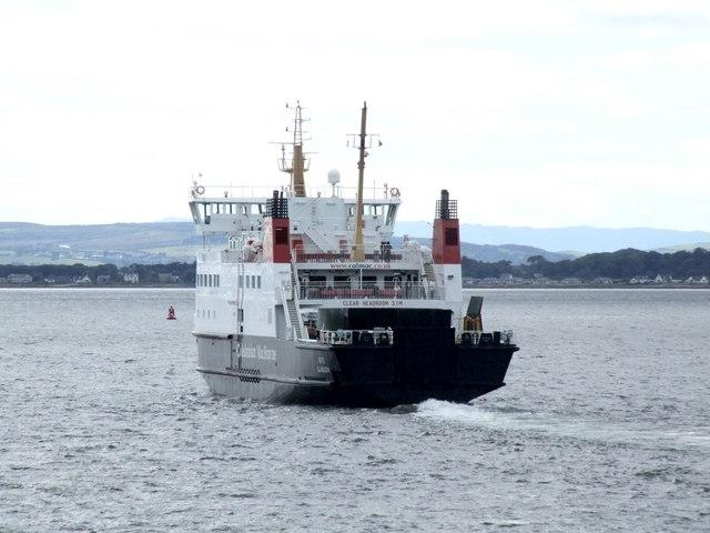 Ferry at Wemyss Bay