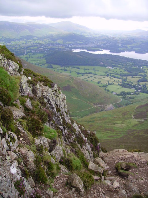 Ascending Causey Pike