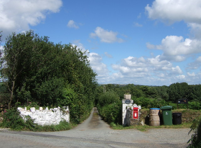 Farm entrances with rural services