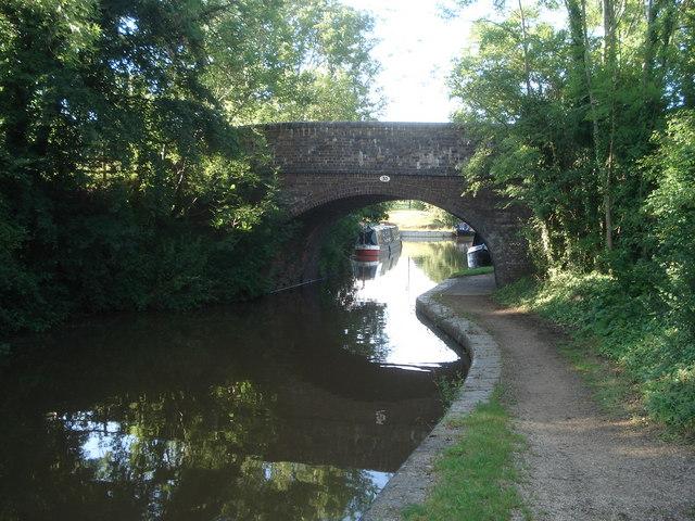 Bridge 30 on the Worcester & Birmingham Canal
