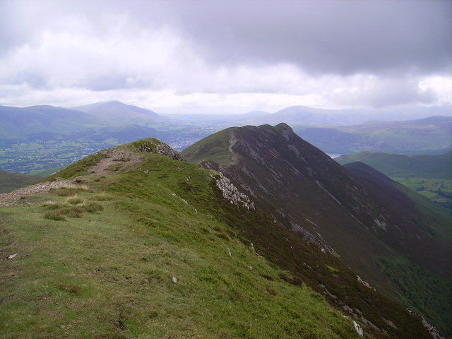 On the Scar Crags Ridge