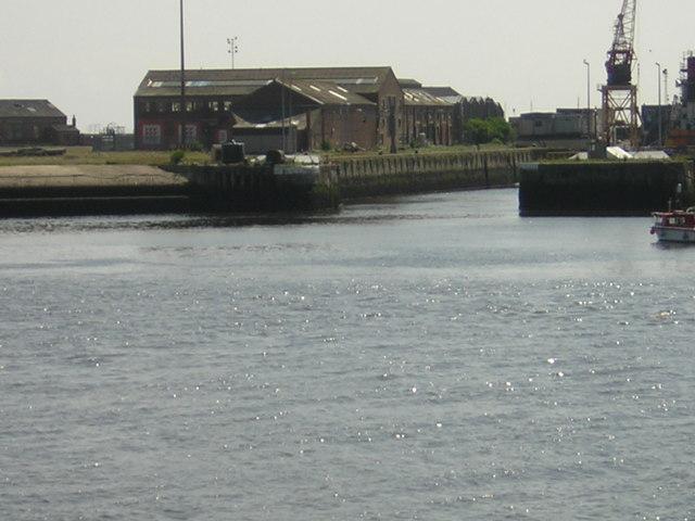 Entrance to Sunderland Docks