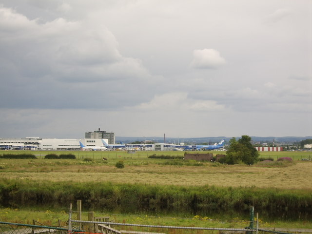 Glasgow Airport and Terminal building
