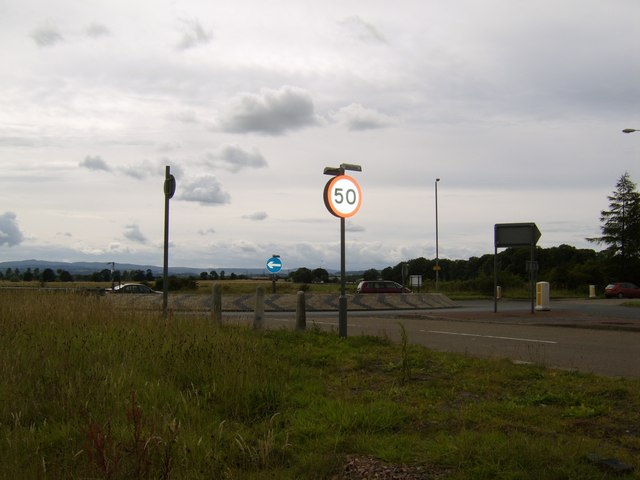 Roundabout on Barnsford Road