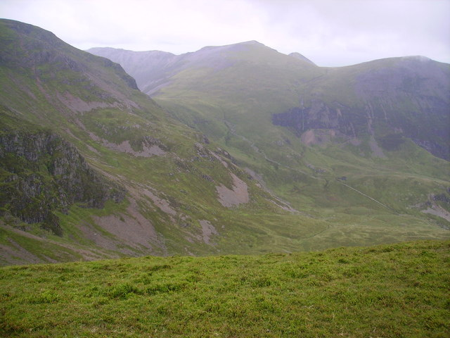 Eel Crags from Sail