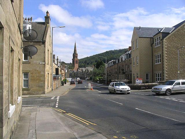 Scott Street, Galashiels