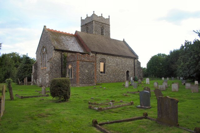 St Mary's Church, Gosbeck