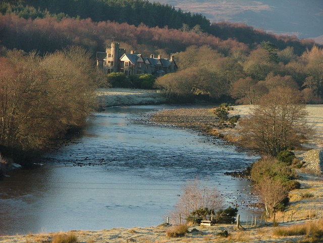 River Carron and Gruinards Lodge