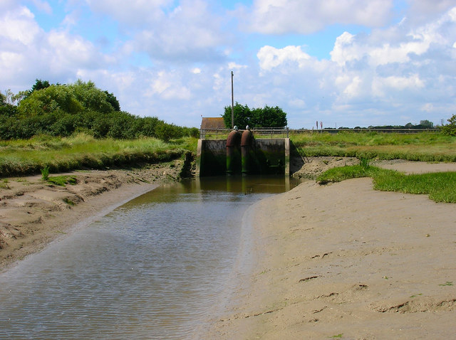 Sluice Gates, Ferry Channel