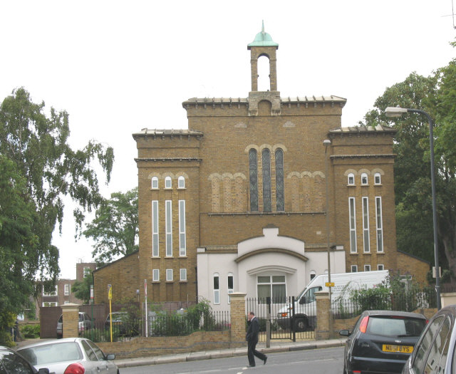 Former St James church, Plumstead