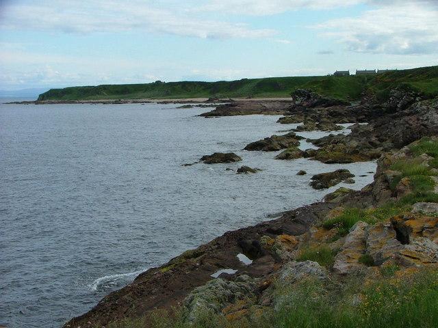 Tarbat Ness toward Wilkhaven Jetty