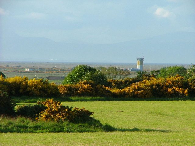 Fields and view to Tain Bombing range