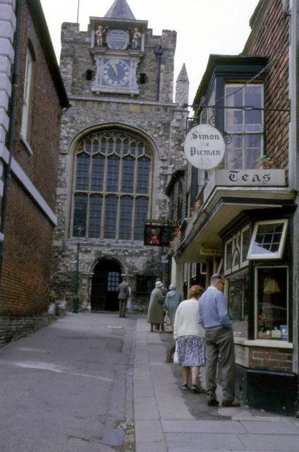 St. Mary's Church, Lion Street, Rye