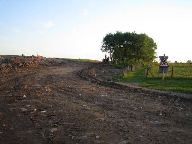 Footpath, Calvert Landfill Site