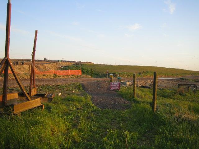Footpath, Calvert Landfill Site 2